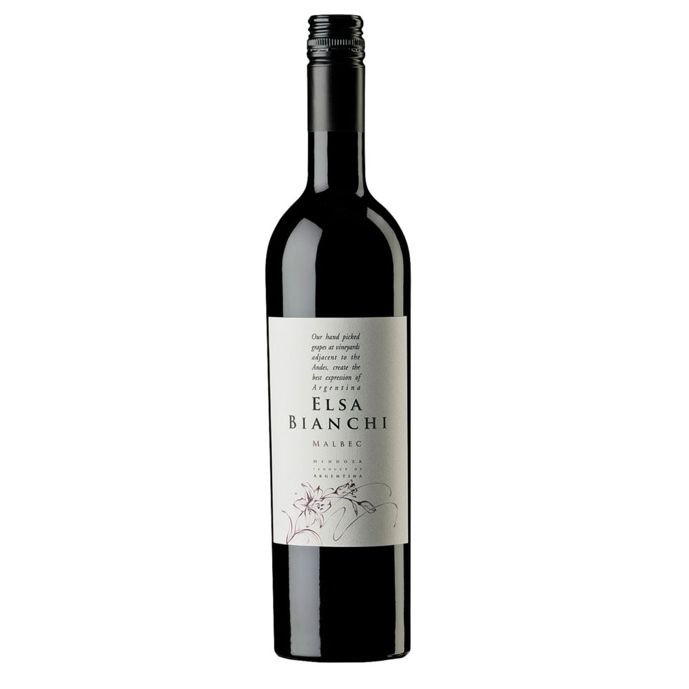 Red Wine, 2015 ELSA BIANCHI - MALBEC