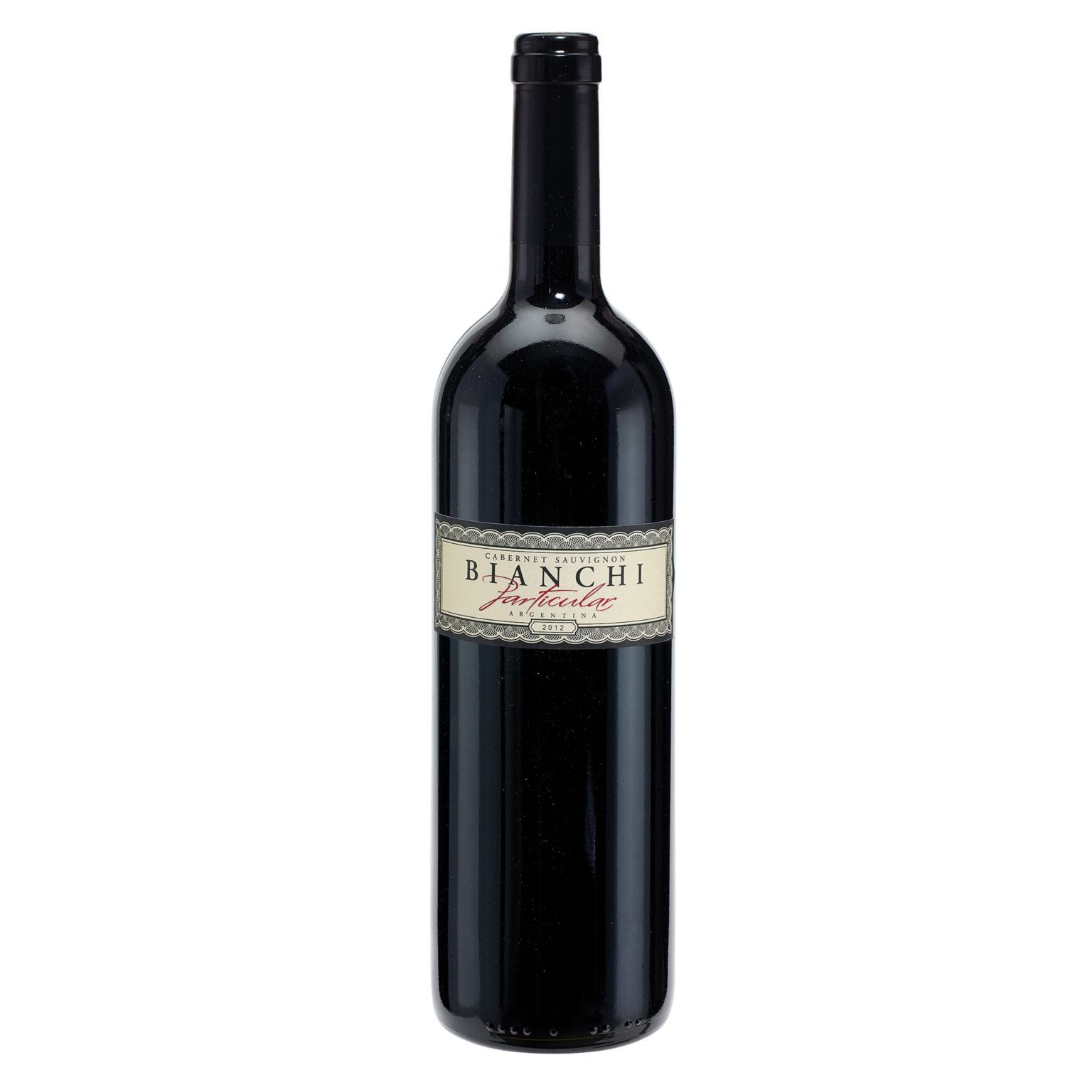 Red Wine, 2012 BIANCHI Particular – Cabernet Sauvignon
