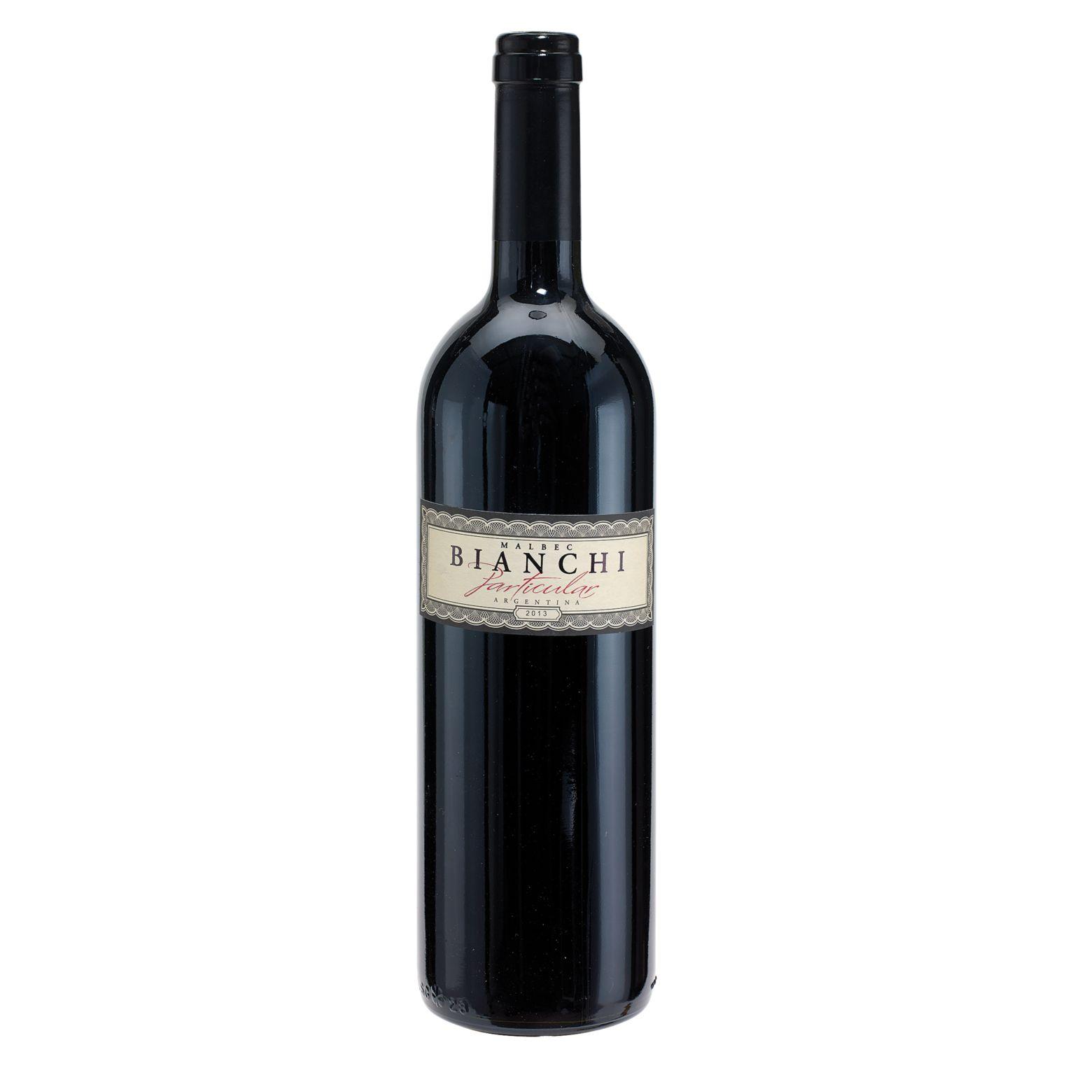 Red Wine, 2013 BIANCHI Particular – Malbec