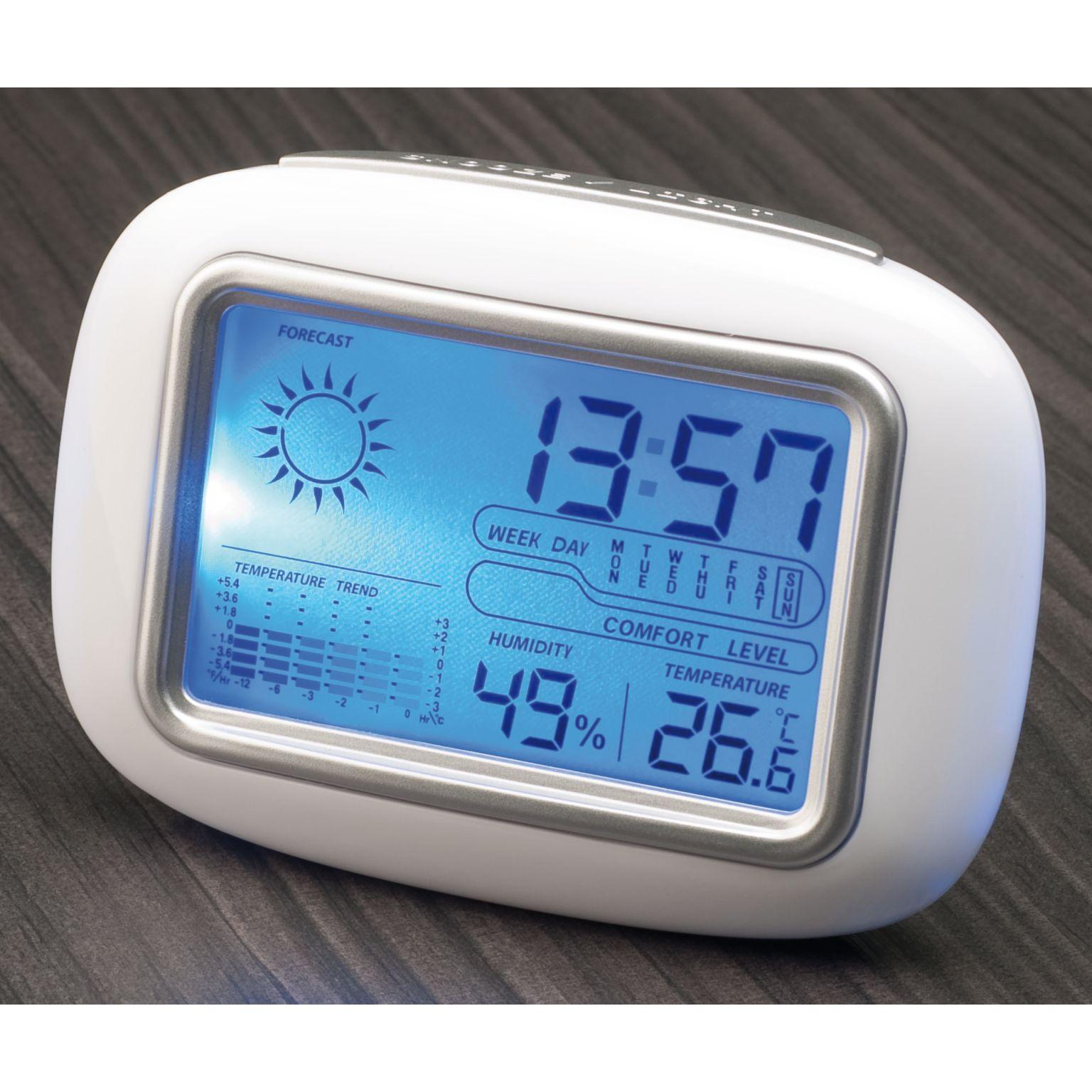 Station météo avec horloge digitale CALOR par EG Diffusion