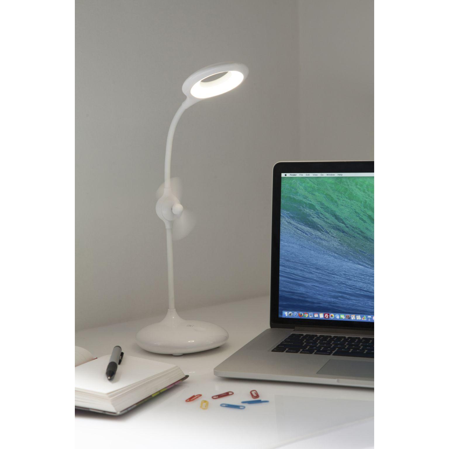 Lampe de bureau avec ventilateur intégré FRESH LIGHT