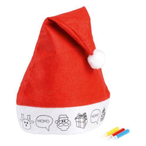 Bonnet de noël en feutre COLOURFUL HAT
