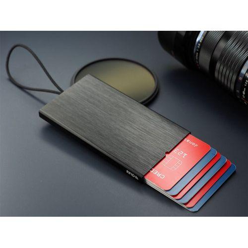 Porte cartes de crédit anti-RFID