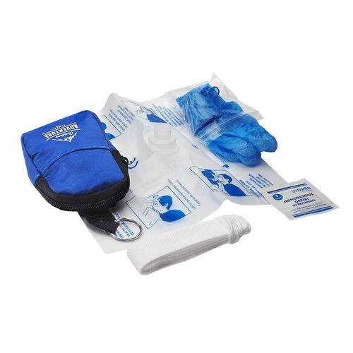 Porte-clés-sac à dos avec un ensemble de CPR Agence Essentiel