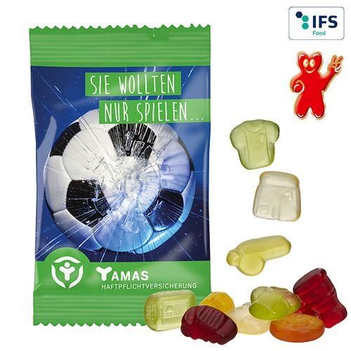 Gommes de fruits, 15 g  - formes standards