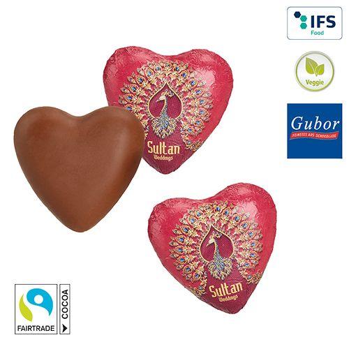 Cœur en chocolat  personnalisé montpellier Paris Ile de France