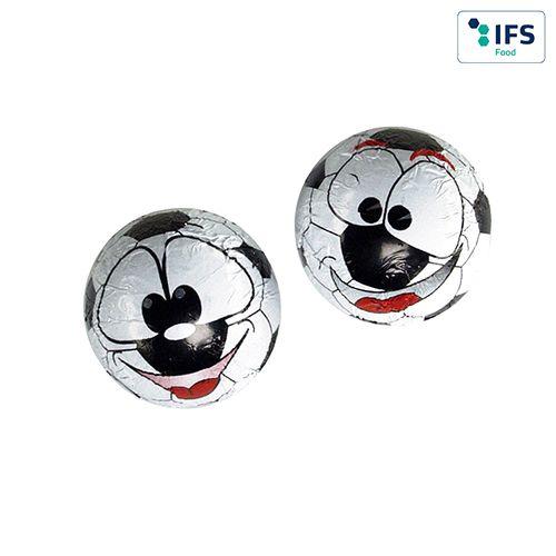 Ballon de foot en chocolat  personnalisé montpellier Paris Ile de France