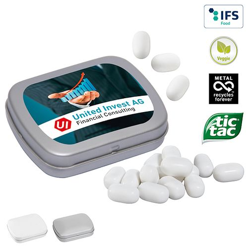 Mini boîte à pastilles avec tic tac
