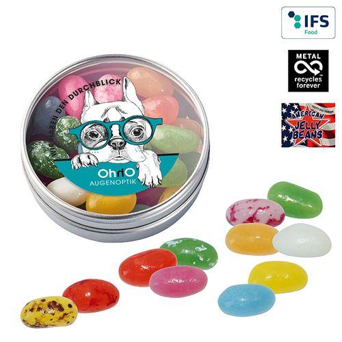 Boîte transparente avec Jelly Beans