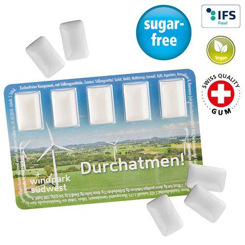 Smart Card avec chewing-gum