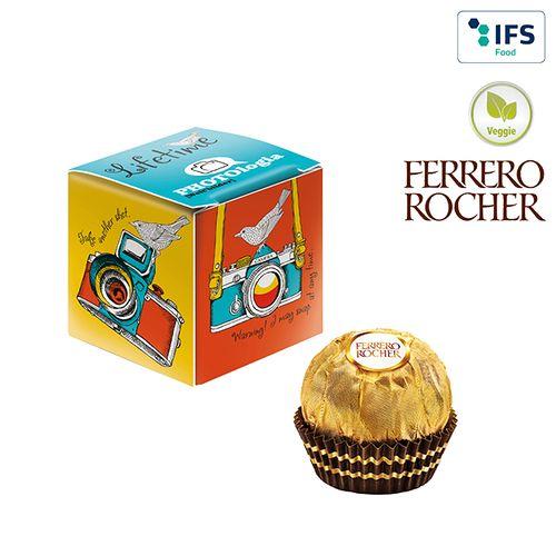 Mini-cube publicitaire Ferrero Rocher