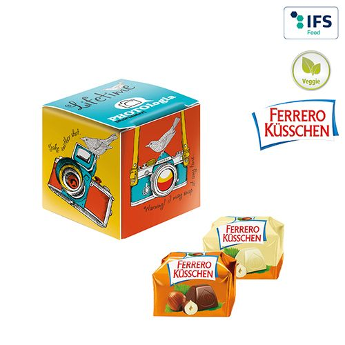 Mini-cube publicitaire Ferrero Küsschen