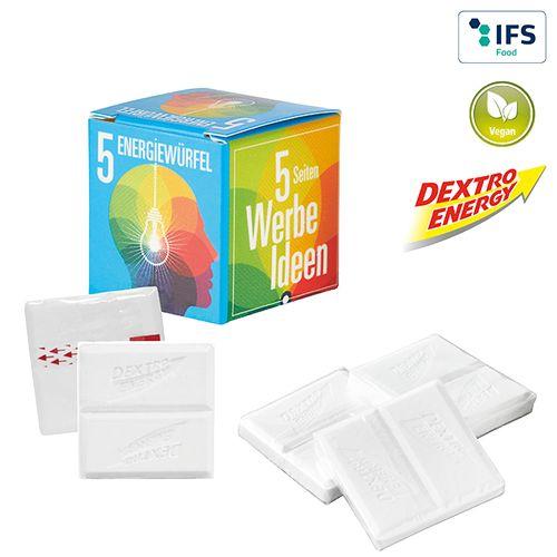 Mini-cube publicitaire Dextro Energy
