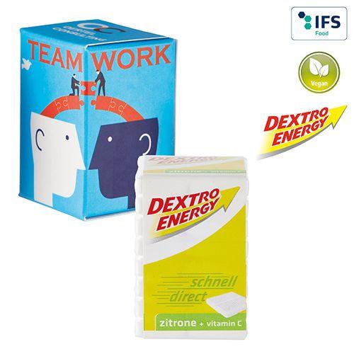 Mini-tour publicitaire avec Dextro Energy