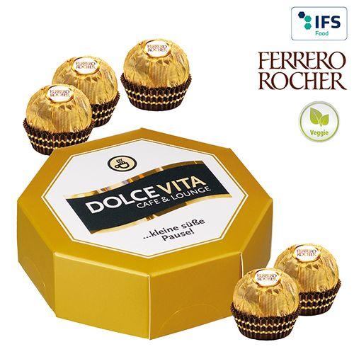 Boîte cadeau octogonale Ferrero Rocher