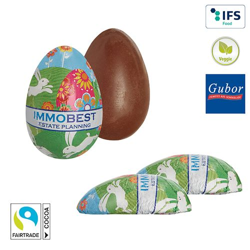 Demi-œuf en chocolat