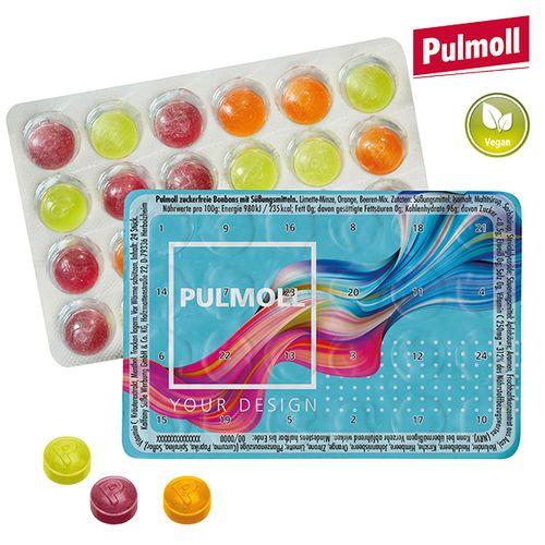Le plus petit calendrier de l'avent du monde avec pastilles Pulmoll  - petite quantité