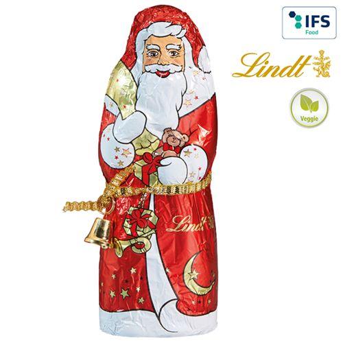 Père Noël de Lindt & Sprüngli boîte  personnalisé montpellier Paris Ile de France