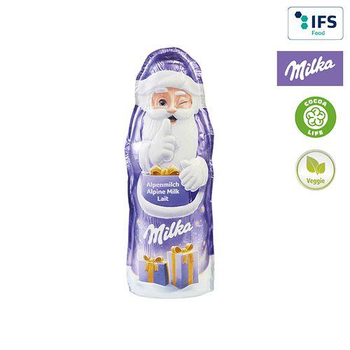 Père Noël de Milka - sans impression