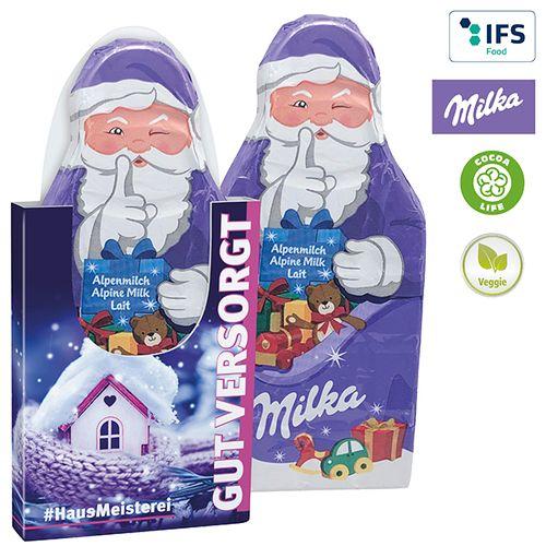 Tablette du Père Noël de Milka