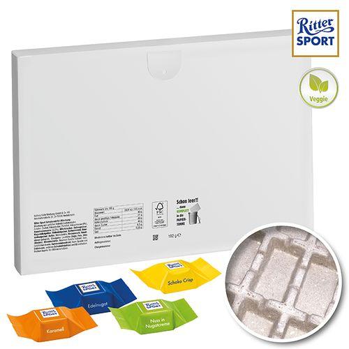 Calendrier de l'avent Premium cadeau «Eco» avec cubes Ritter Sport - petite quantité OBJECTIFIED Bruxelles