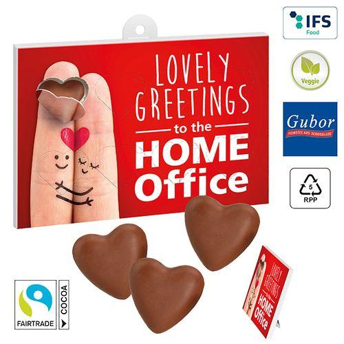 Cœurs en chocolat à offrir  personnalisé montpellier Paris Ile de France