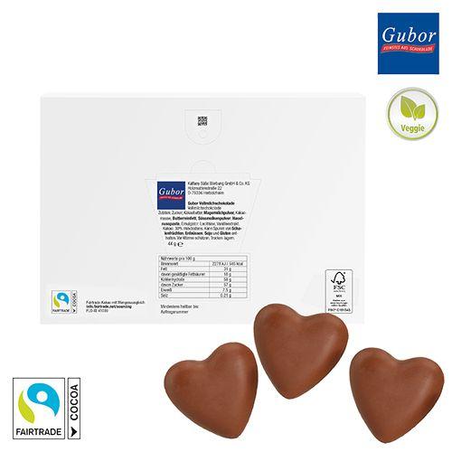 Cœurs en chocolat à offrir - petite quantité OBJECTIFIED Bruxelles