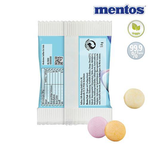 Mentos DUO Fruit Mix en sachet de papier - petite quantité  personnalisé montpellier Paris Ile de France