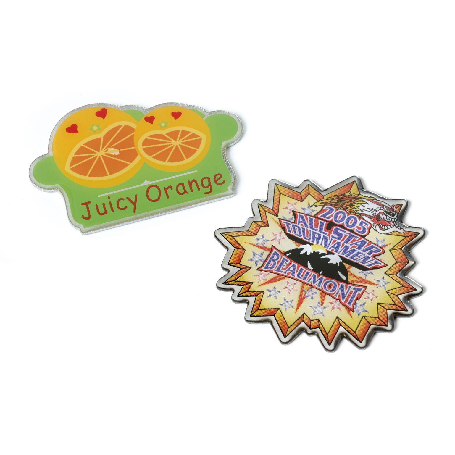 Printed Pin Badges