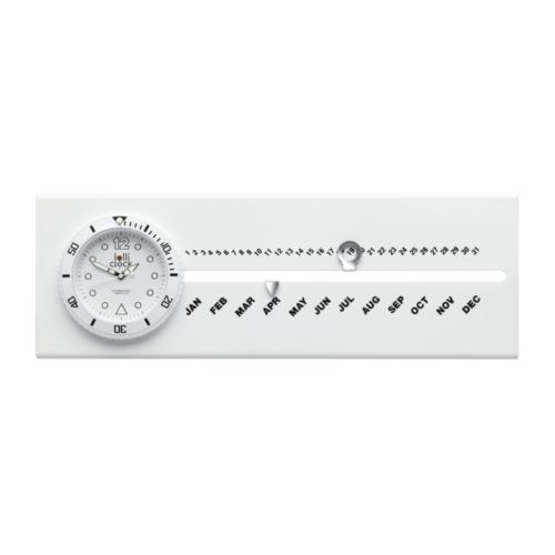 Horloge avec calendrier LOLLICLOCK-CALENDAR