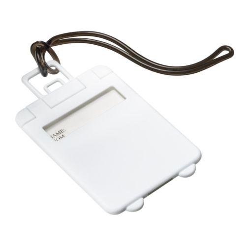 Étiquette à bagage REFLECTS-VILLARICA WHITE