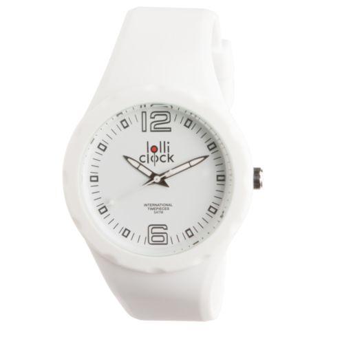 Montre-bracelet LOLLICLOCK-FRESH WHITE WHITE