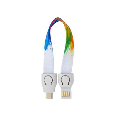 Chargingcable Lanyard Charging Cable / USB-C / 12cm / RF