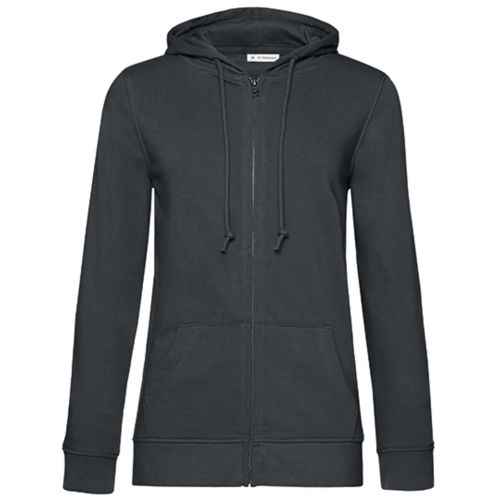 Organic Zipped Hood Jacket /Women