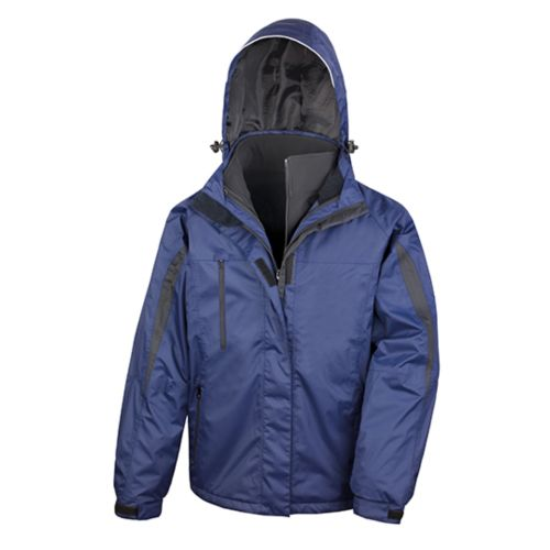 Men`s 3-in-1 Journey Jacket with Soft Shell inner
