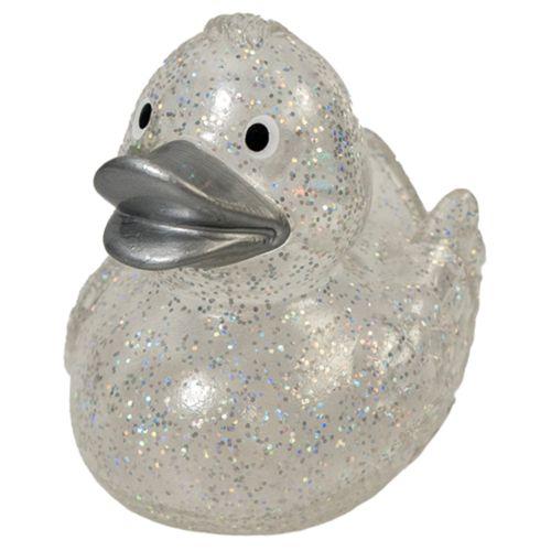 Schnabels® Squeaky Duck Glitter Silver
