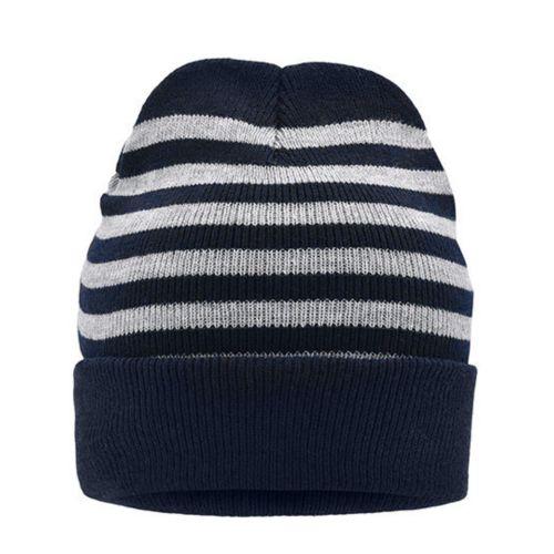Striped Winter Beanie