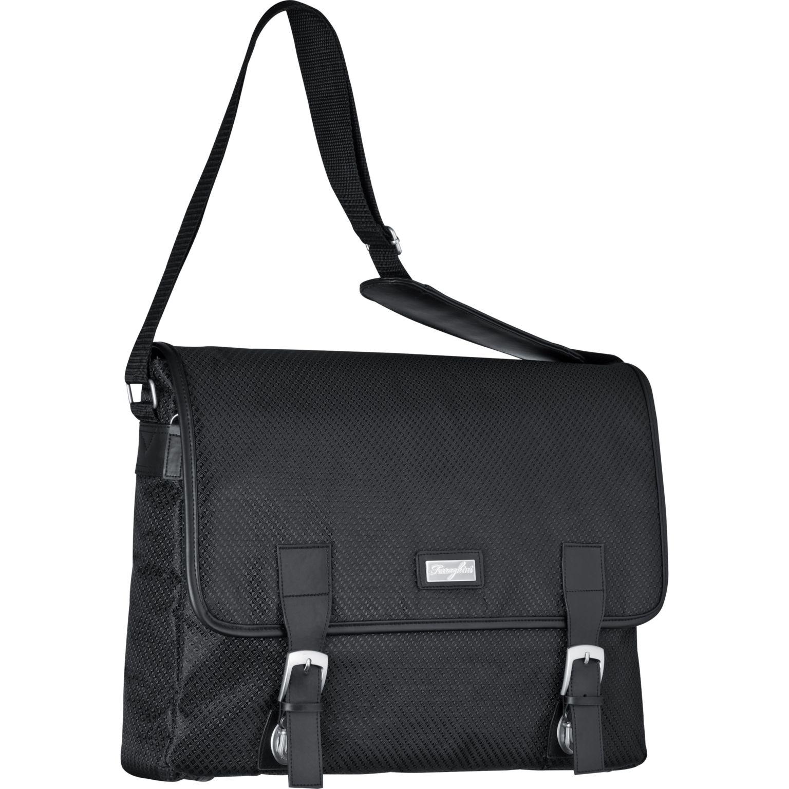 Ferraghini laptop bag with a flap