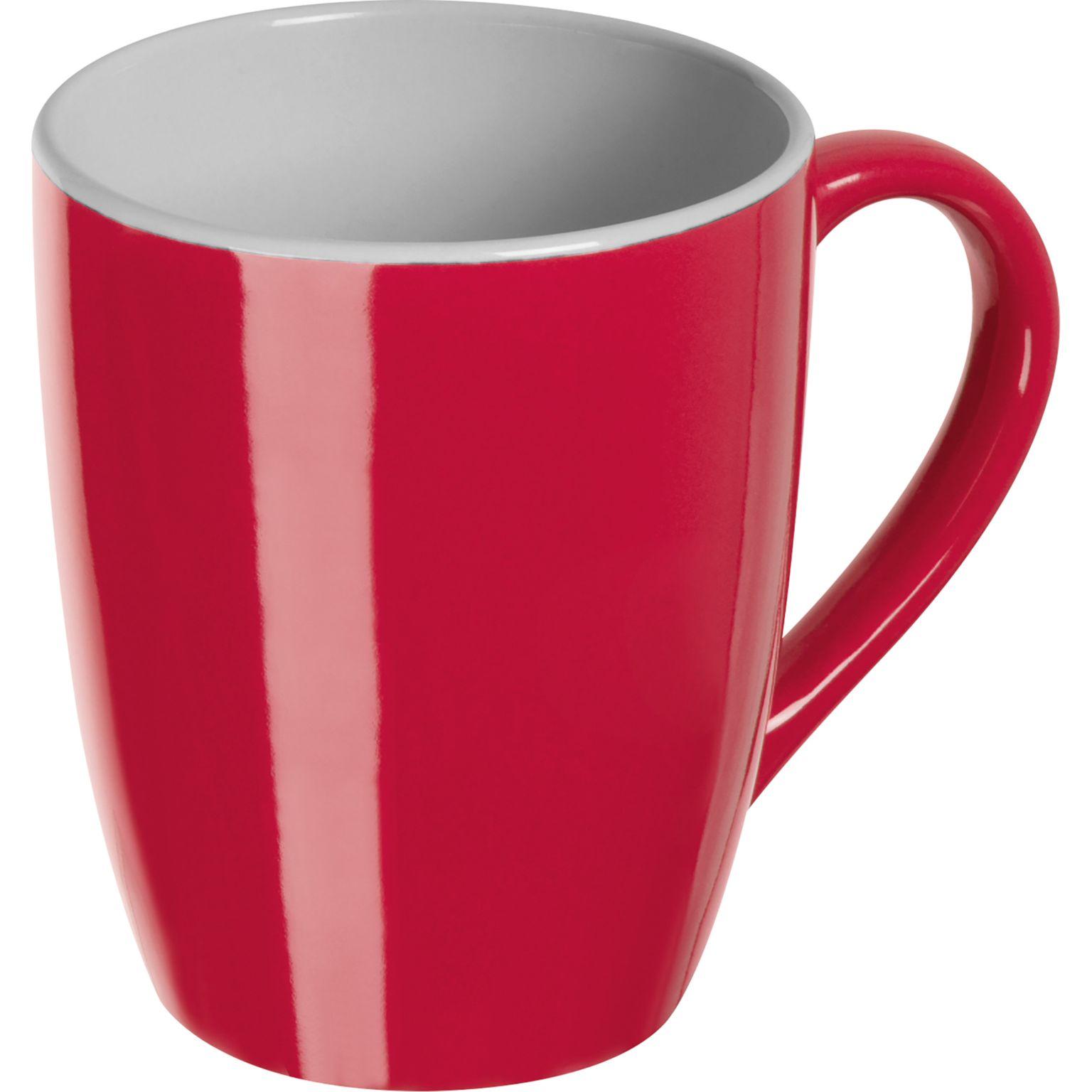 Mug coloré et intérieur blanc