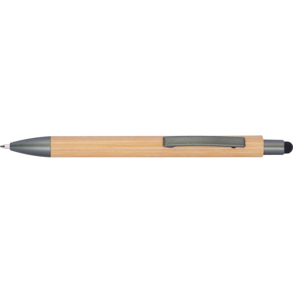 Stylo à bille en bois avec fonction tactile