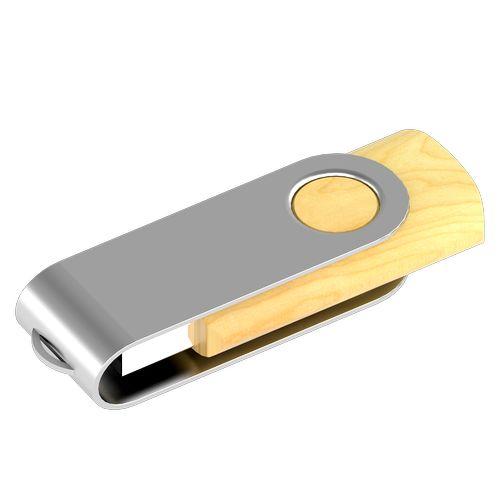 USB Flash Twist ECO Objets publicitaires
