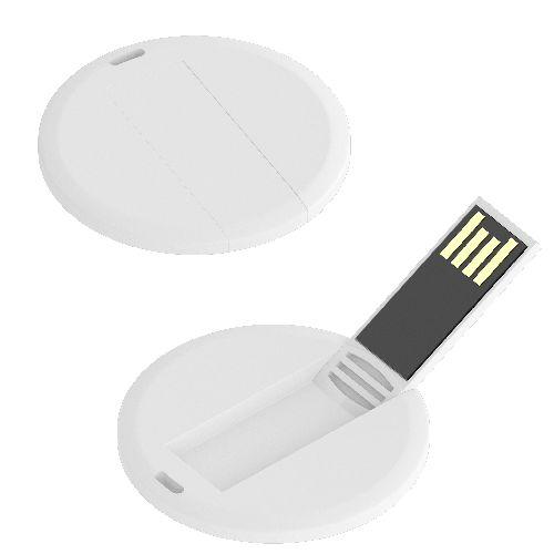 USB Flash Badge Round ECO