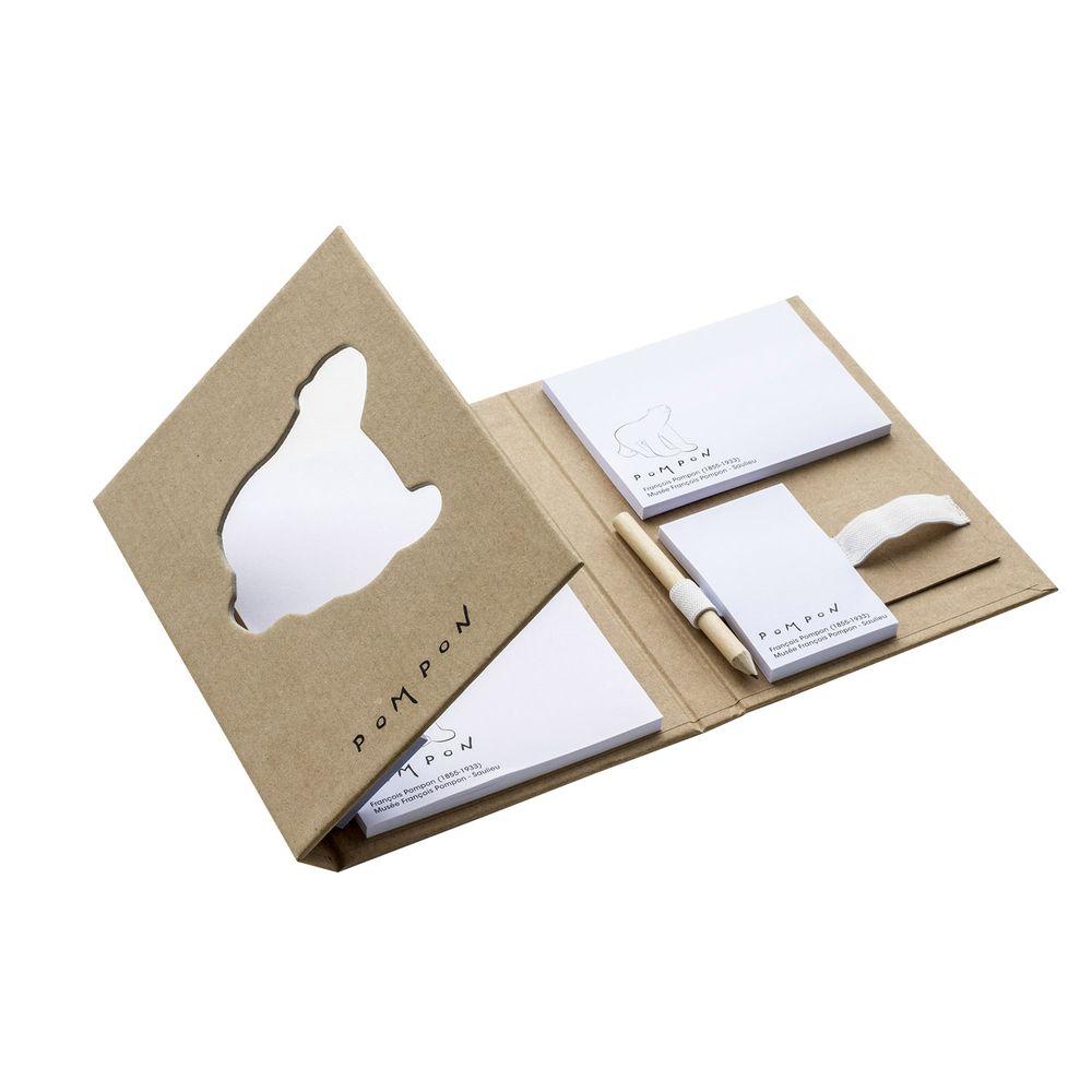 Notes adhésives avec une couverture rigide personnalisé  goodies objets publicitaires