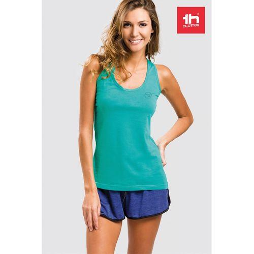 THC TIRANA. T-shirt sans manches pour femme, Objet personnalisable, comité social économique