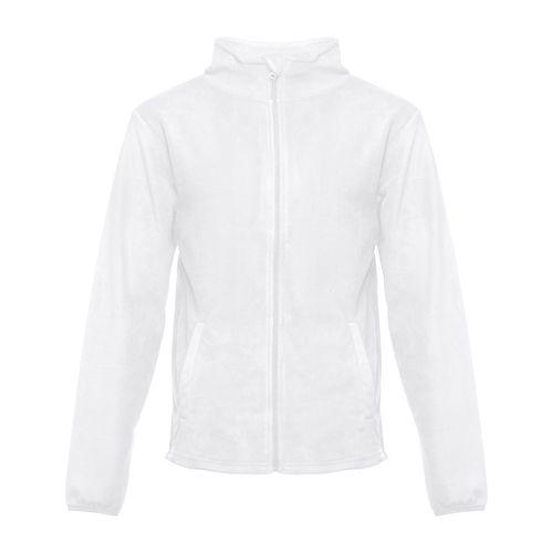 THC HELSINKI WH. Veste polaire homme, avec fermeture zippée, Objet personnalisable, comité social économique