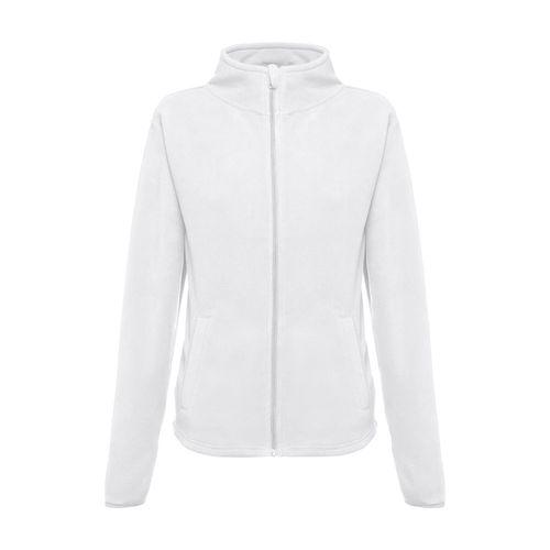 THC HELSINKI WOMEN WH. Veste polaire femme, avec fermeture zippée, Objet personnalisable, comité social économique