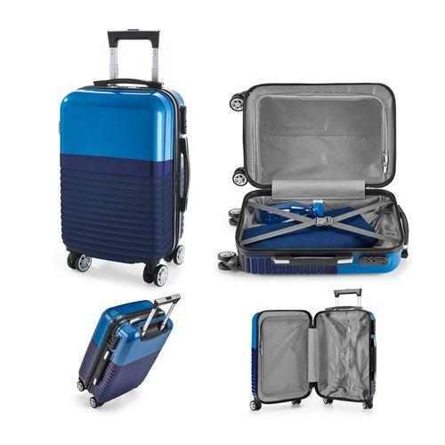 PERTH. Trolley de voyage ABS et PC, Objet personnalisable, comité social économique