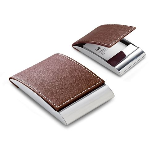 SMITH. Porte-cartes en métal, Objet personnalisable, comité social économique