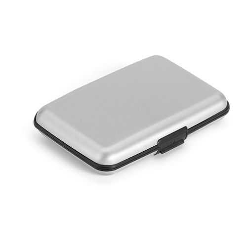 BRONI. Porte-cartes en aluminium - ISOCOM - OBJETS ET TEXTILES PERSONNALISES - NANTES