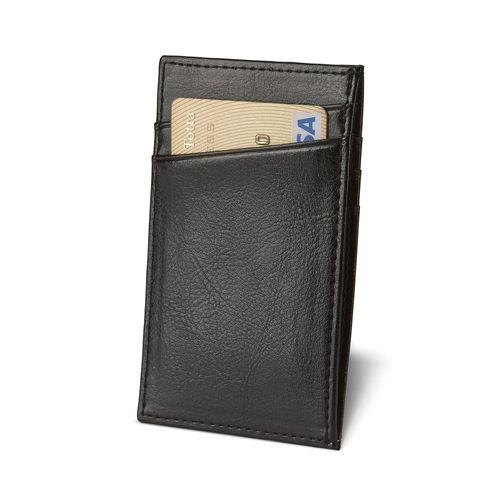 KUTCHER. Porte-cartes en cuir - ISOCOM - OBJETS ET TEXTILES PERSONNALISES - NANTES